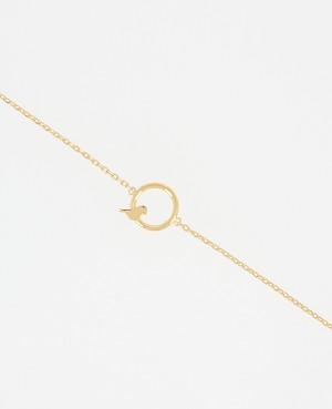 Bracelet plaqué or petit...