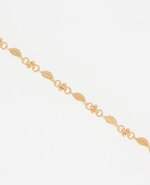 Bracelet plaqué or maille...