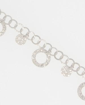Bracelet argent anneaux...
