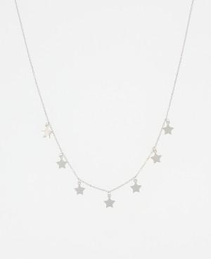 Collier argent étoiles...