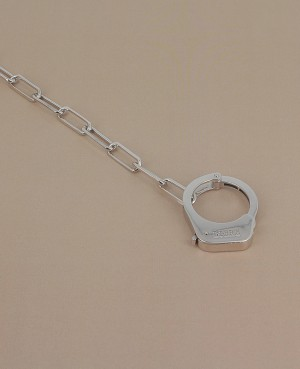 Bracelet argent menotte