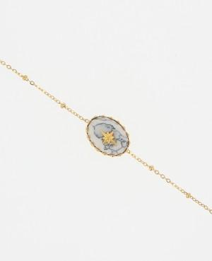 Bracelet Acier orné d'une...