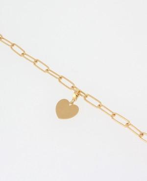 Bracelet Argent doré forcat...