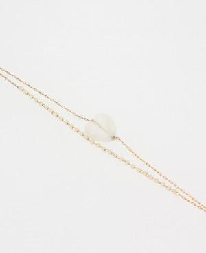 Bracelet Acier doré Double...