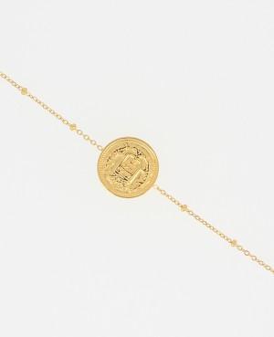 Bracelet pièce de monnaie...