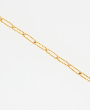 Bracelet chaine doré maille...